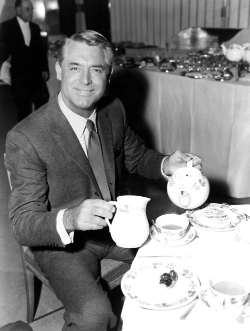 Cary Grant teatime
