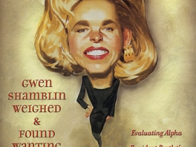 Gwen Shamblin covergirl on the Christian Research Journal