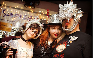 Tinfoil Millinery, the ultimate accessory for the 21st Century