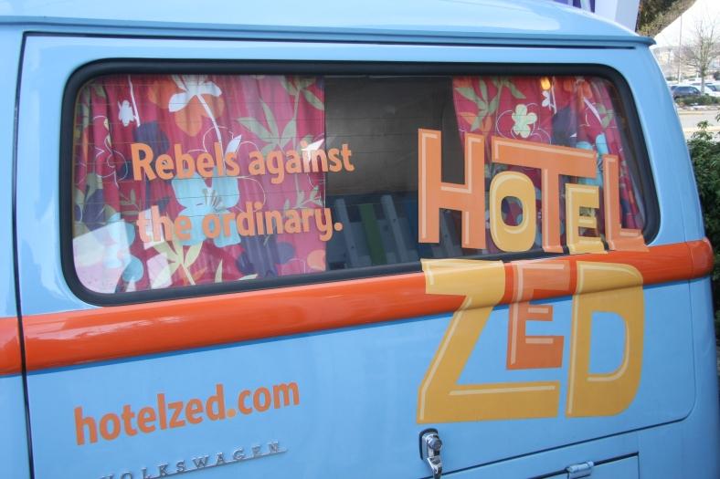 Hotel Zed Bus Window