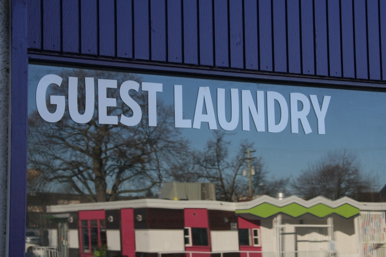Even the Guest Laundry is cool
