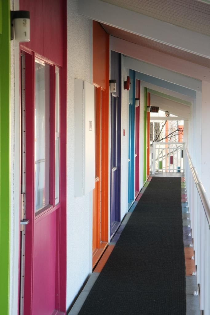 Hotel Zed Hallway