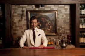 Hiroyasu Kayama photographed at Ben Fiddich in Tokyo