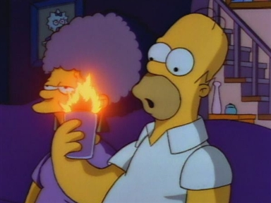 The Flaming Homer