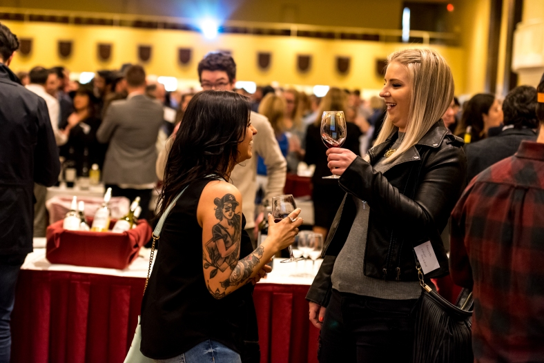 California Wine Fair crowd