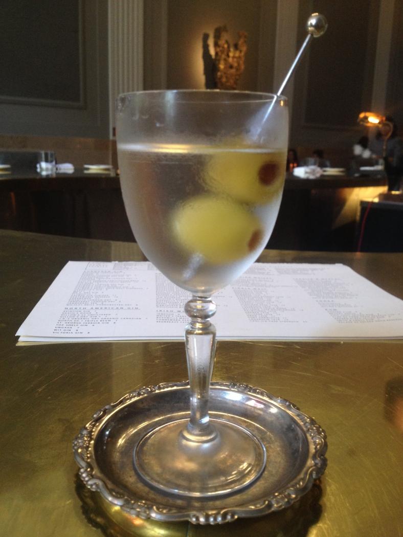 The Spanish Martini at Riviera